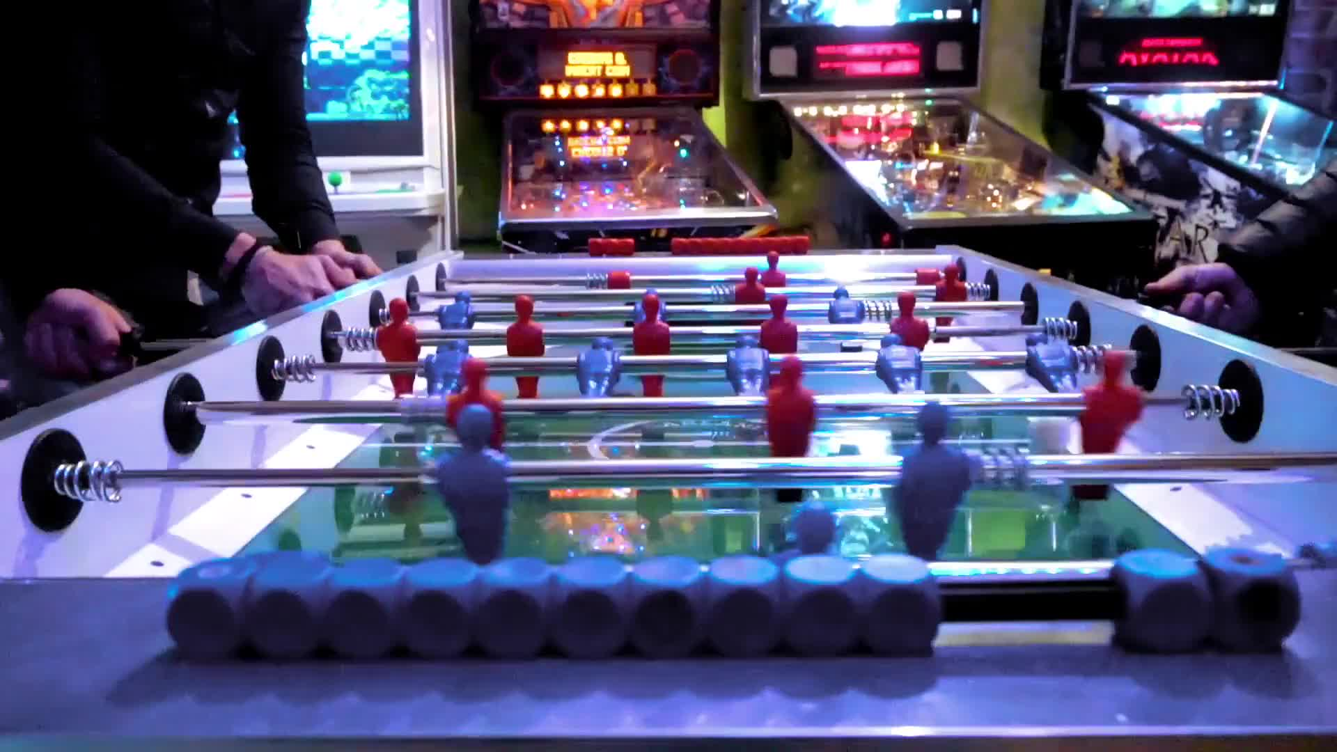 Foosball game fun play entertainment