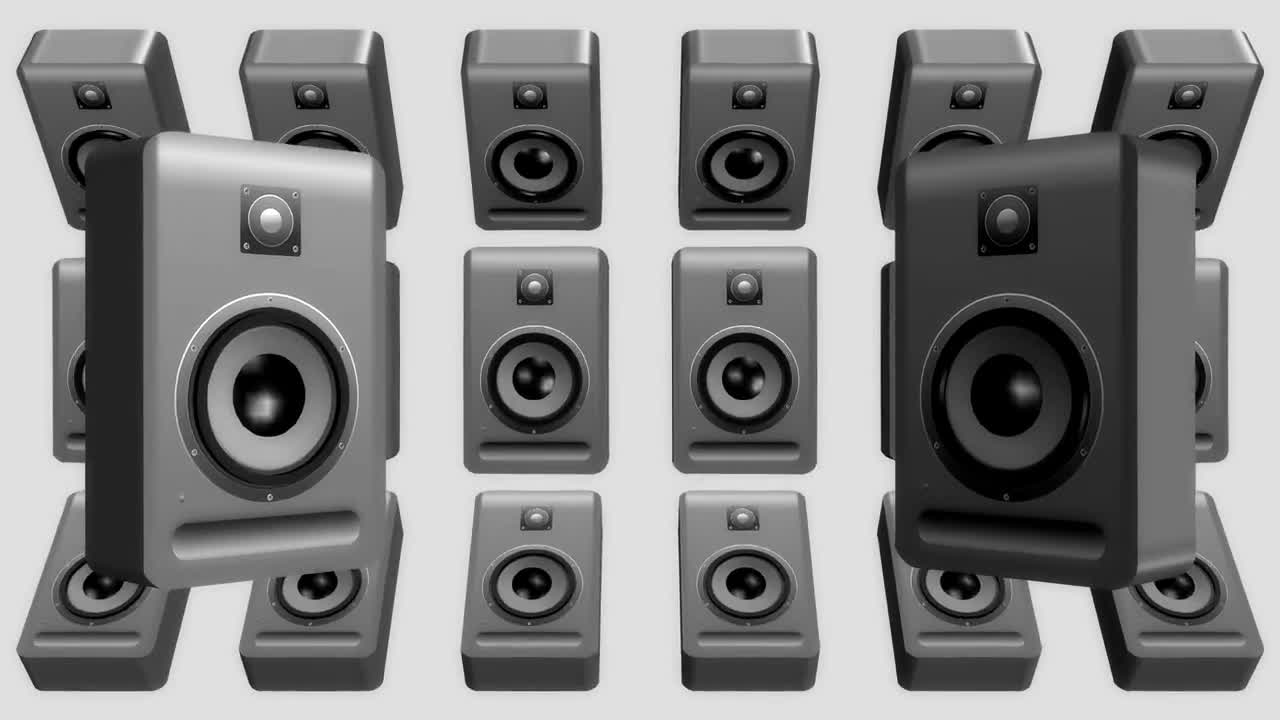 Speakers audio sound music stereo