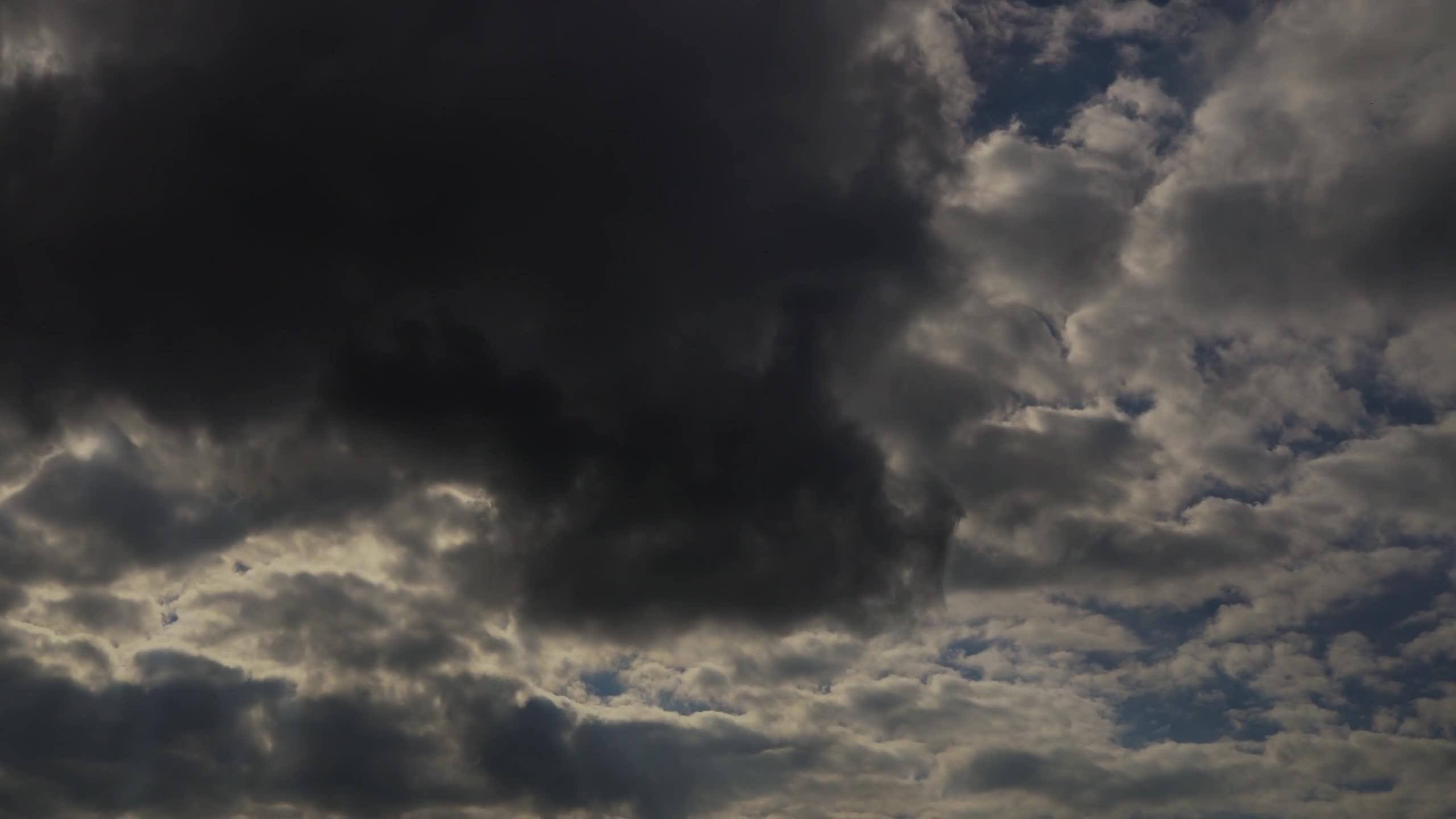 Time lapse clouds sky atmosphere dark clouds
