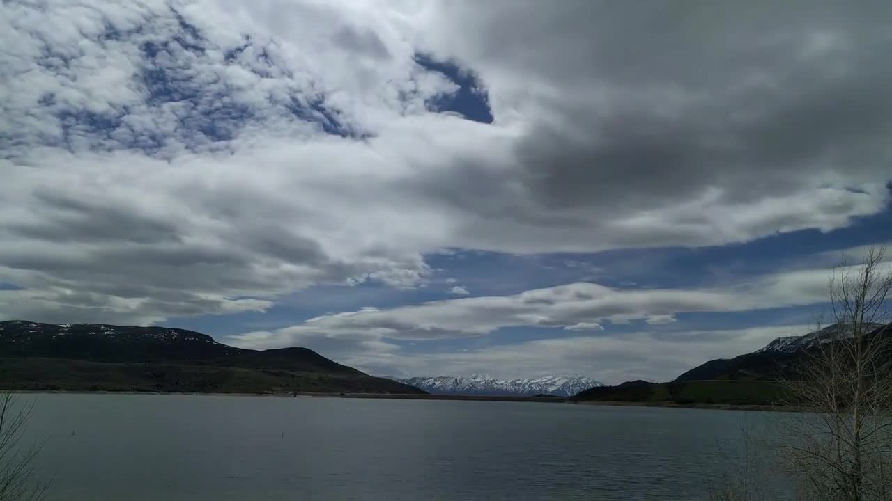 Jordanelle reservoir utah park city earth day sky