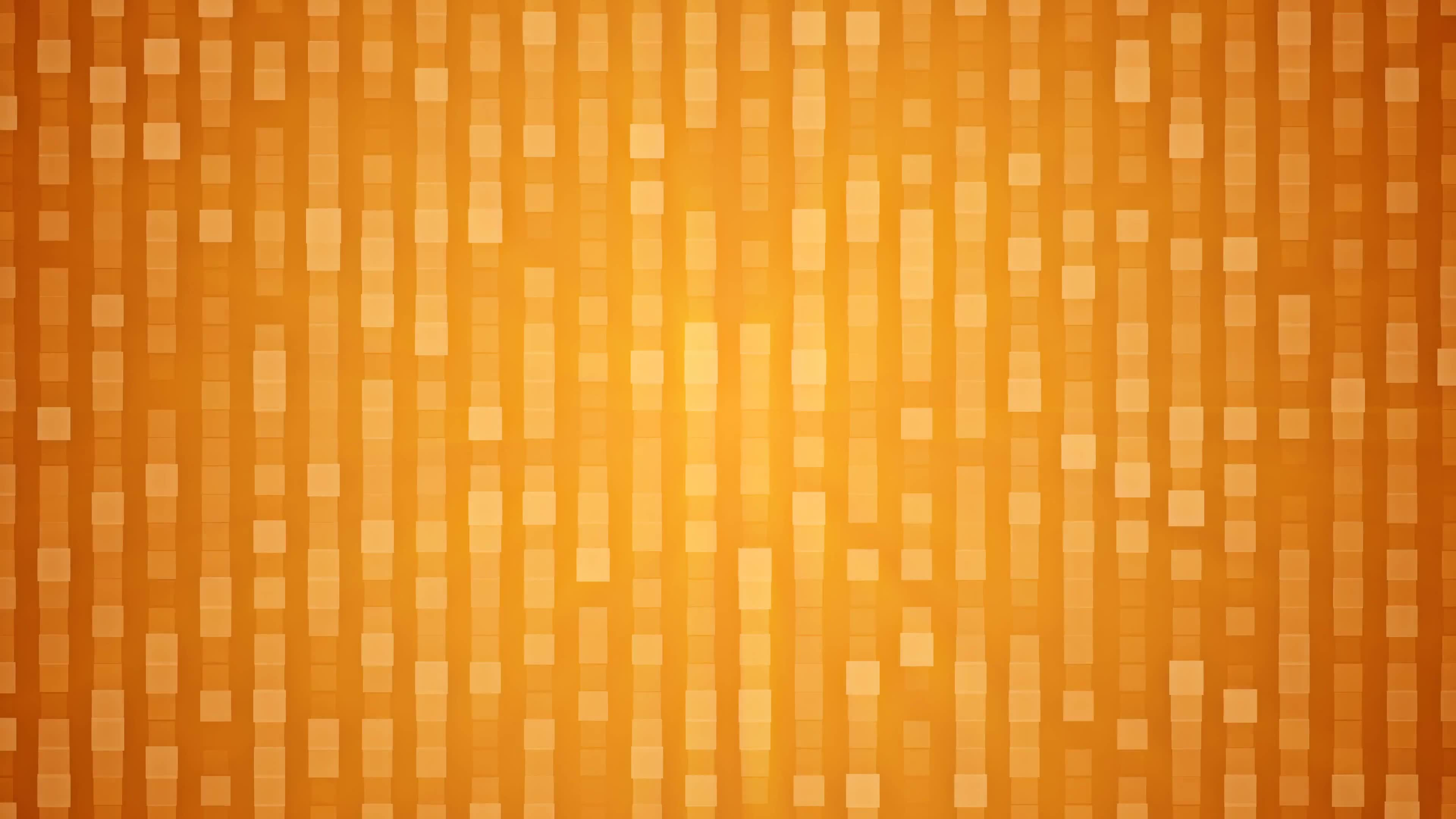 Squares background golden lights lines