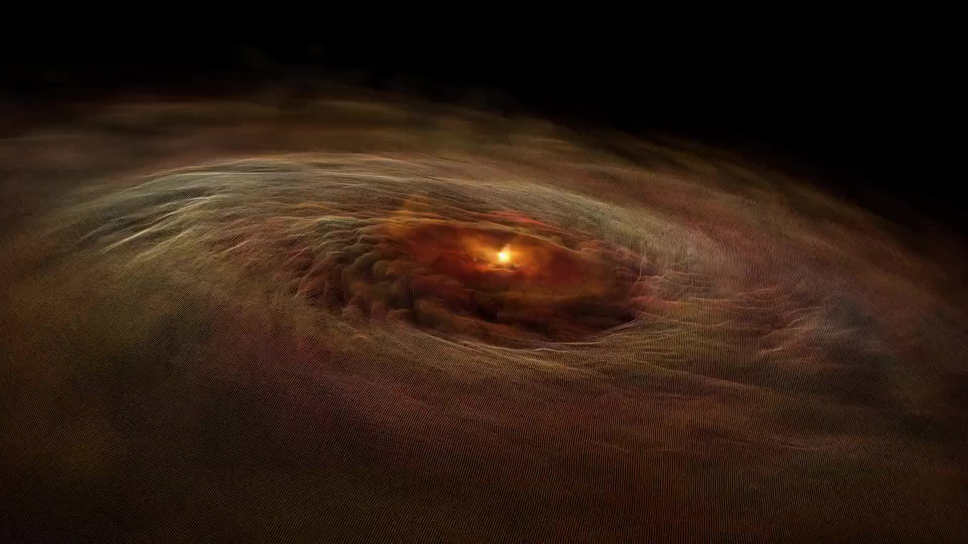 Black hole explosion detonation swirl hole