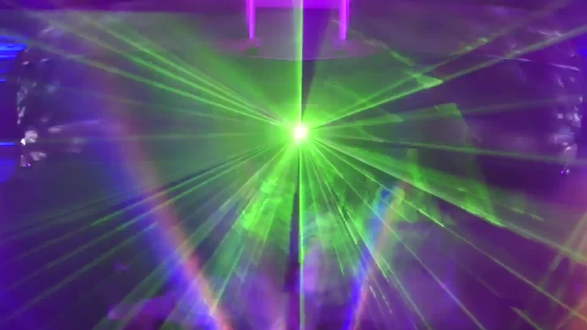 Disco laser nightclub light show rays