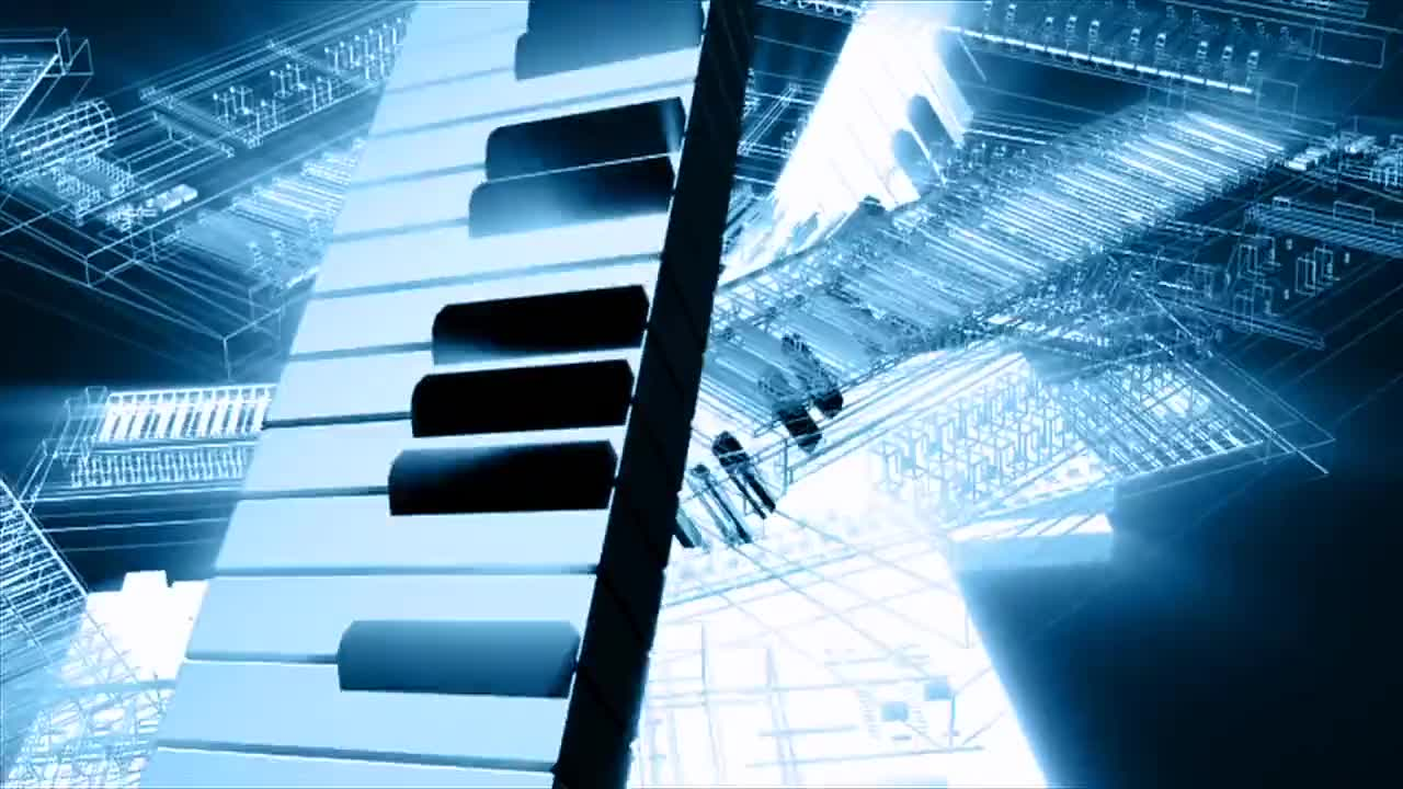 Music keyboard keys instrument musician