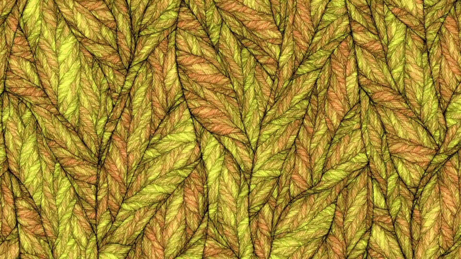 Veins leaf structure abstract zoom color change